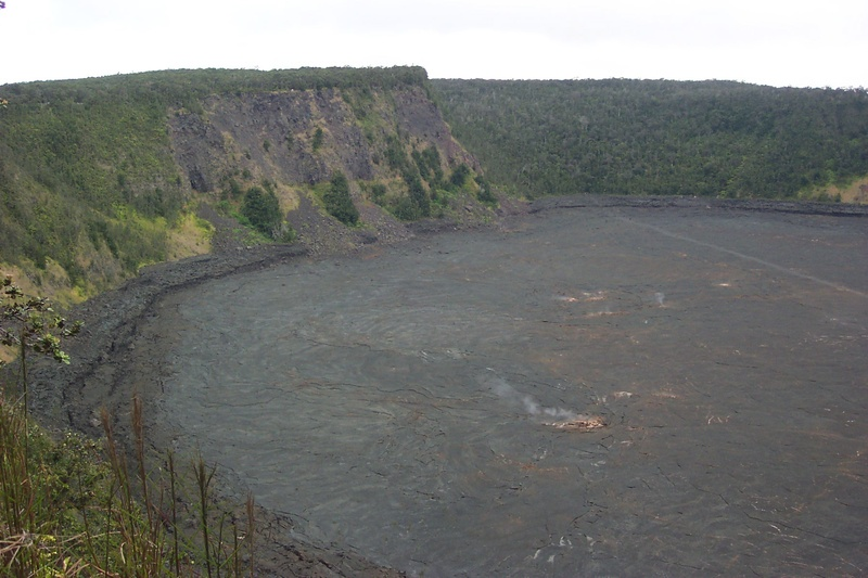 Crater at Volcano Park