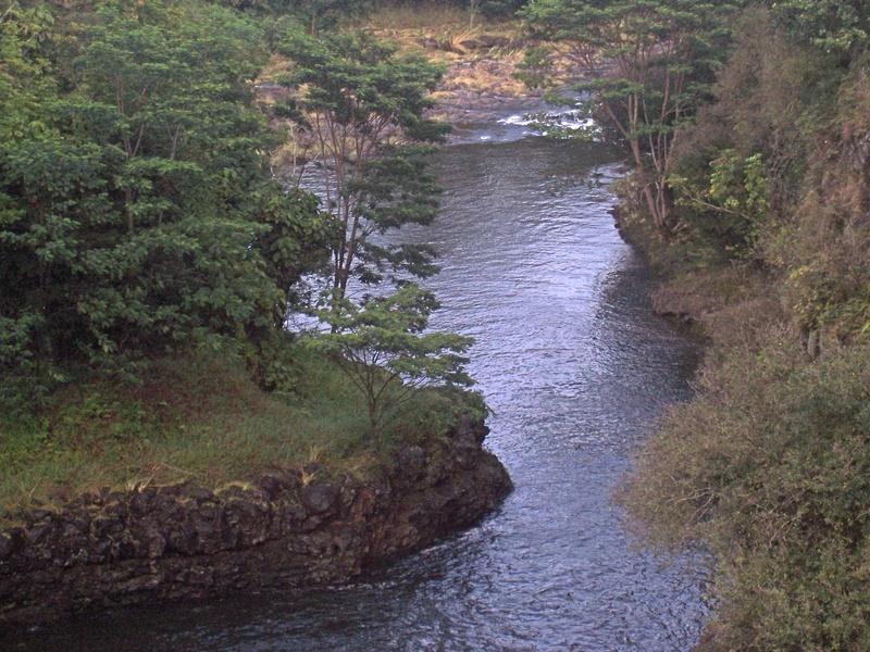 The River near Hilo
